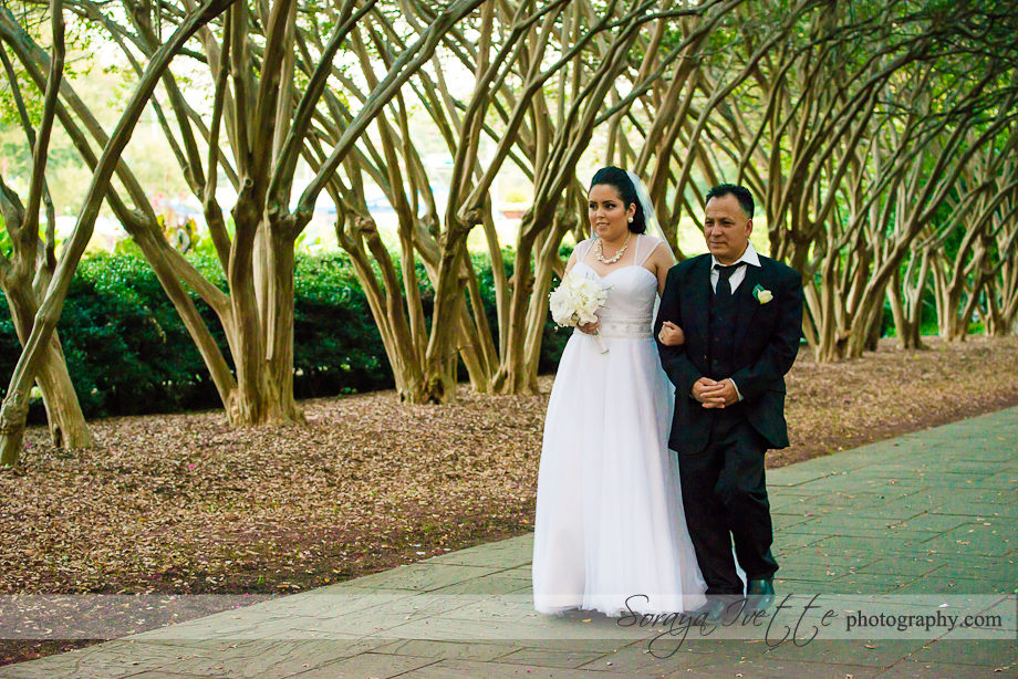 Soraya Ivette Photography Dallas Arboretum Wedding Photographer