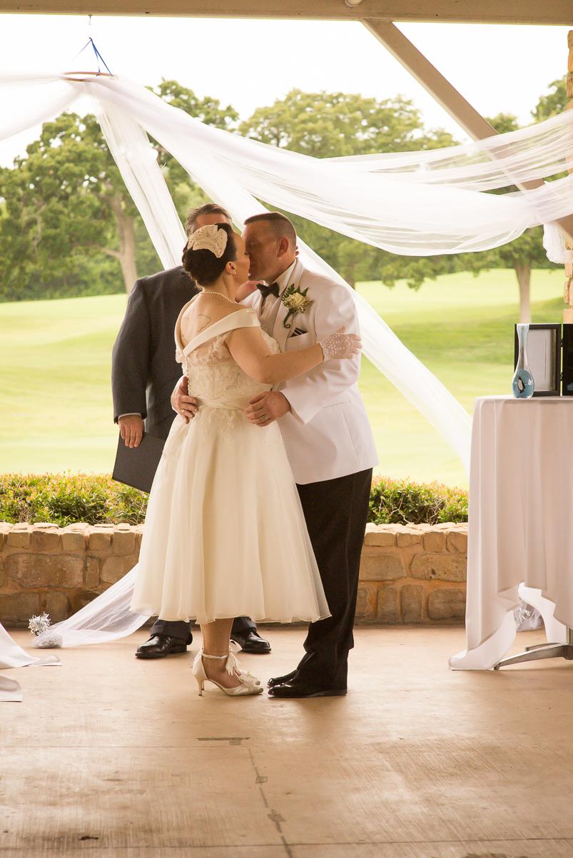 Clint & Jenn's Vintage Wedding - Texas Star Golf Course-11