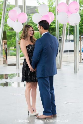 Soraya Ivette Photography Klyde Warren Park Dallas Surprise Proposal Photography