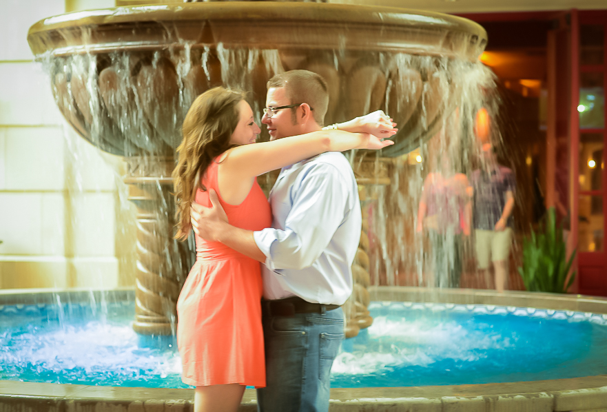 Soraya Ivette Photography Gaylord Texan Resort Engagement Photographer